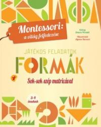 Formák - játékos feladatok, Montessori