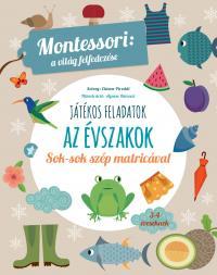 Az évszakok - Montessori foglalkoztató