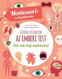 Az emberi test : Montessori foglalkoztató füzet
